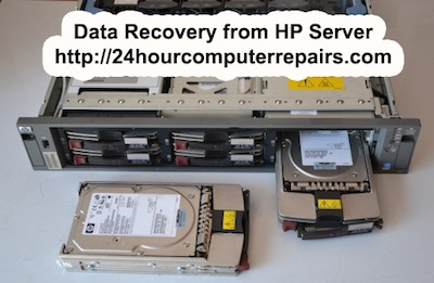 Data Recovery on HP Server